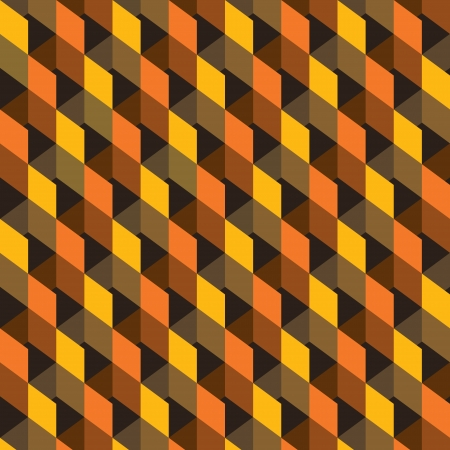 abstract retor square pattern background  vector Vector