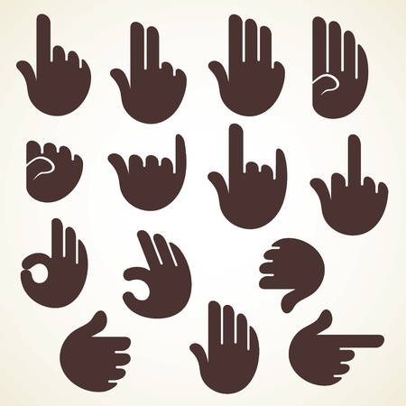 ok sign language: creative sign or signal show by hand finger