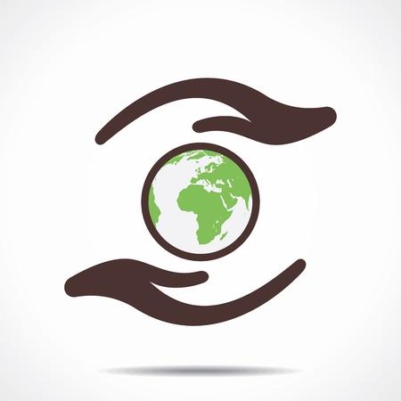 save earth concept Stock Vector - 21695061