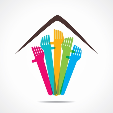 required: every one required home icon stock Illustration