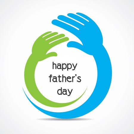 father s day: happy father s day concept vector