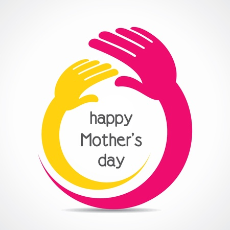 happy mother s day background concept