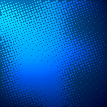 blue background with halftone vector