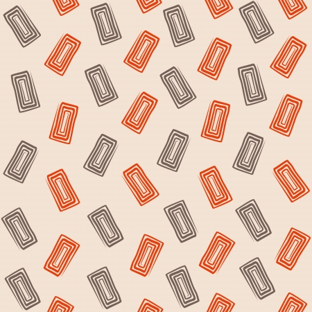 creative swirl rectangle design pattern background vector Vector