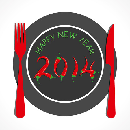 resturant: new year resturant theme background vector
