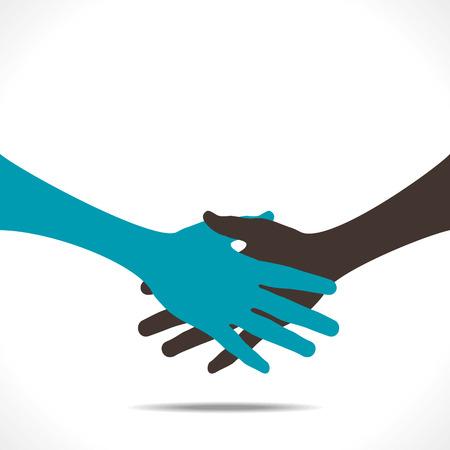 handshake or partnership icon vector Stock Vector - 24474420