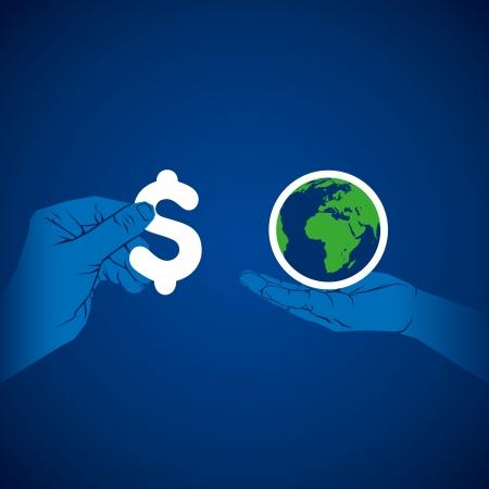 globális üzleti: globális üzleti koncepció vektor