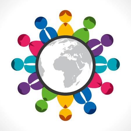 global meeting or communication of people
