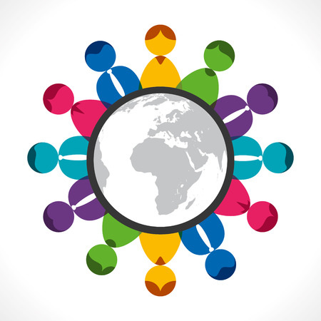 global meeting or communication of people