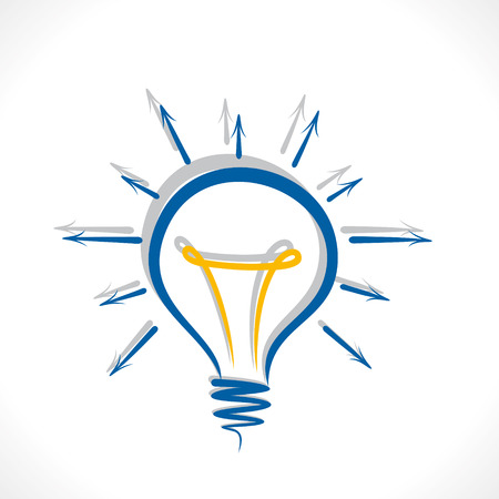 share your idea concept bulb design vector