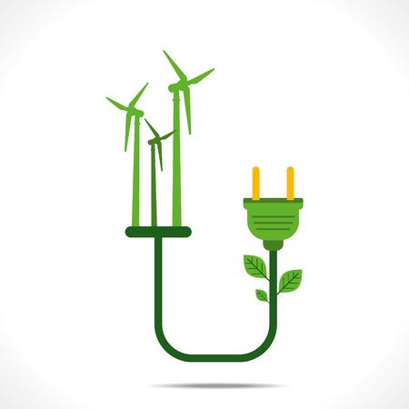 ahorrar agua: generar energía verde por concepto de diseño del molino de viento