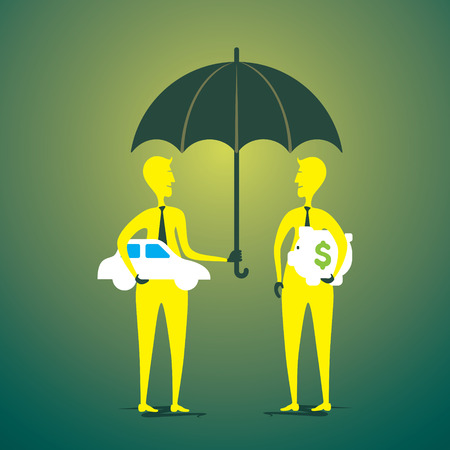 exchange or purchase car and money concept vector Vector
