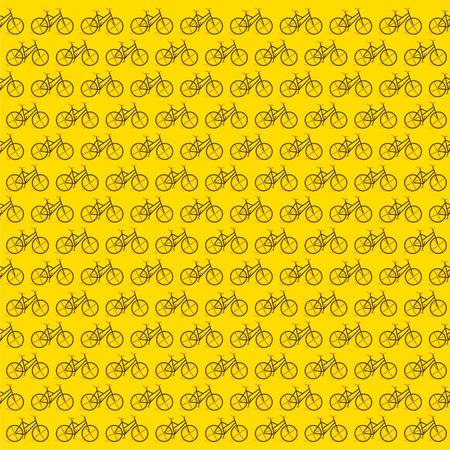 creative bicycle design patttern background vector Vector