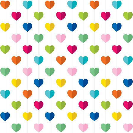 valentine day gift wrapping paper design vector