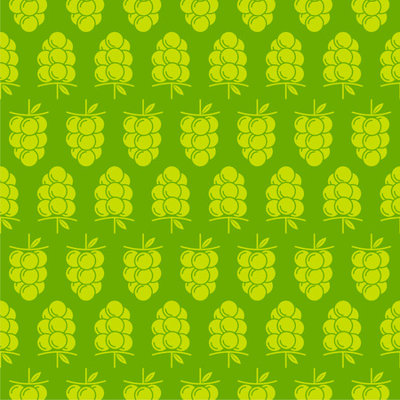 creative fruit grapes wrapping paper  pattern design vector Vector