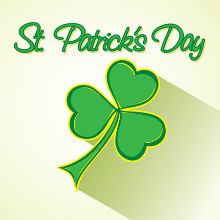 creative St. Patrick day greeting background design vector