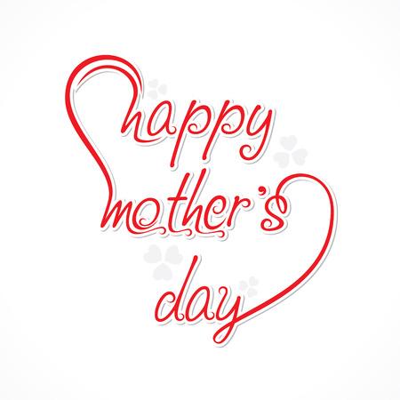 happy mother day design vector
