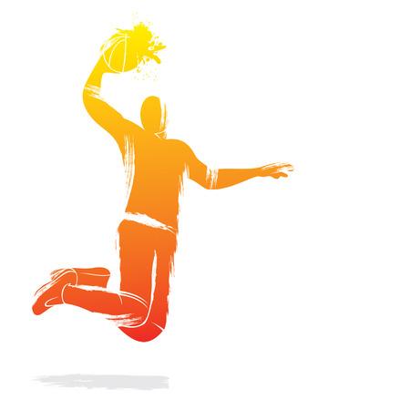 volleyball serve: volleyball player design vector