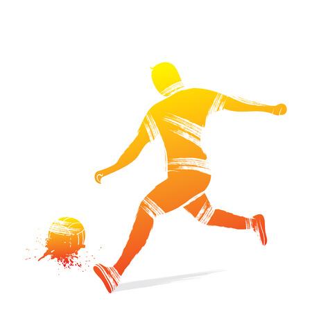 football player design vector Vector