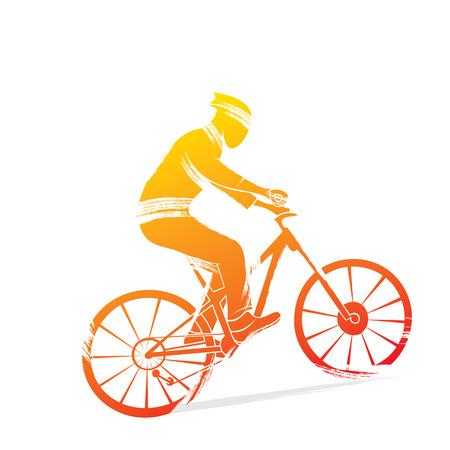 cycling sports design vector Иллюстрация