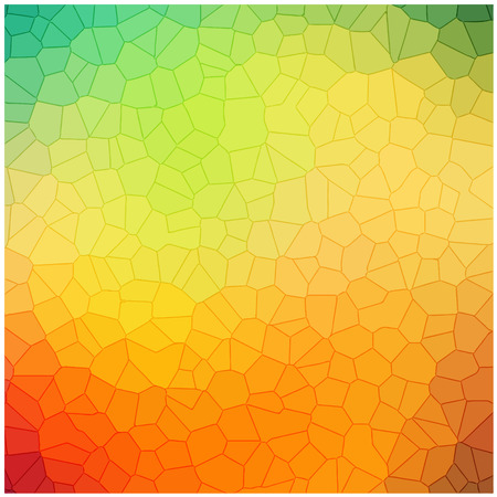 crystallization: colorful crystallization pattern background vector