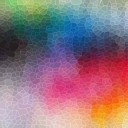 random: colorful random crystal background  Illustration