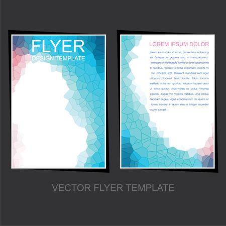 leaflet design: creative business flyer or leaflet design  Illustration