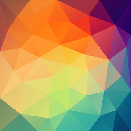 triangular shape: abstract colorful triangular shape pattern design vector