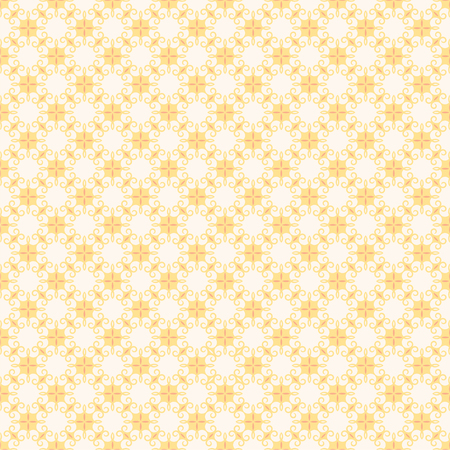flora: retro yellow flora pattern background for gift wrapping  vector
