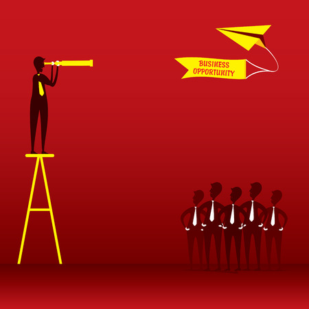 business opportunity: business opportunity concept design Illustration
