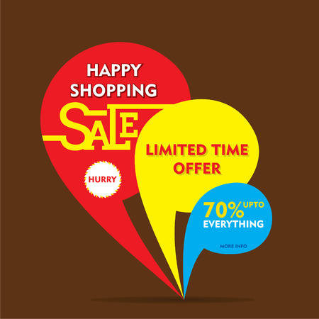 limited time: limited time offer sale on everything banner  design vector