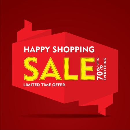limited time: limited time offer sale on  everything banner  design vector Illustration