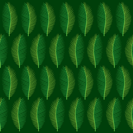 pattern: creative green tropical leaf pattern background design