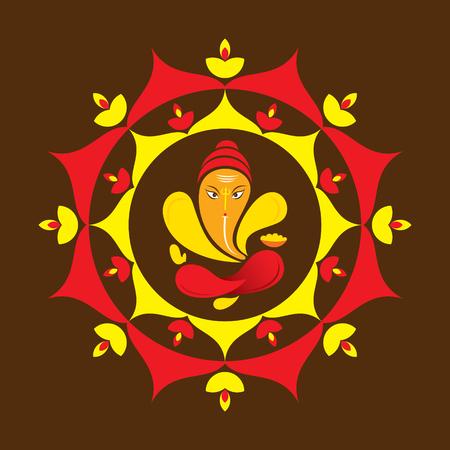 joyful: creative ganesha chaturthi or idol ganesha design