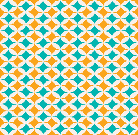 creative abstract shape seamless pattern design