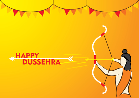 dashamukha: happy dussehra festival poster design