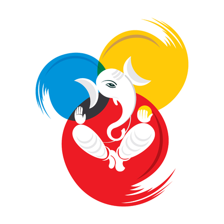 celebrate indian Happy Ganesh Chaturthi festival banner design