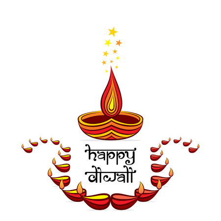 Big Diwali festival sale template banner offer design, happy diwali festival