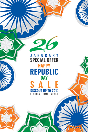 happy independence day of india illustration vector, using advertising poster design