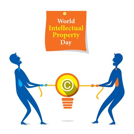 World Intellectual Property Day poster design.