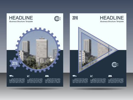 Steel shade annual report Leaflet Brochure template A4 size design, book cover layout design, Abstract presentation template. Apply your company colors