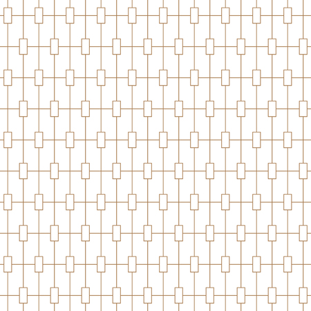 Light line monochrome seamless background pattern. Vector illustration. Stock Illustratie