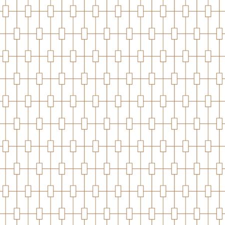 Light line monochrome seamless background pattern. Vector illustration. Illusztráció