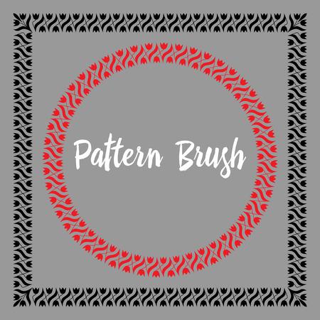 Pattern brush template.