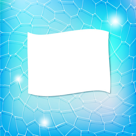 grid texture: Blue background with random abstract grid texture and copy space for your text. Vector illustration
