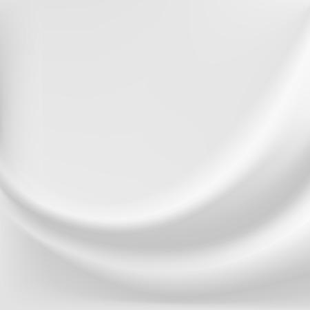 White sillk background. Ilustrace