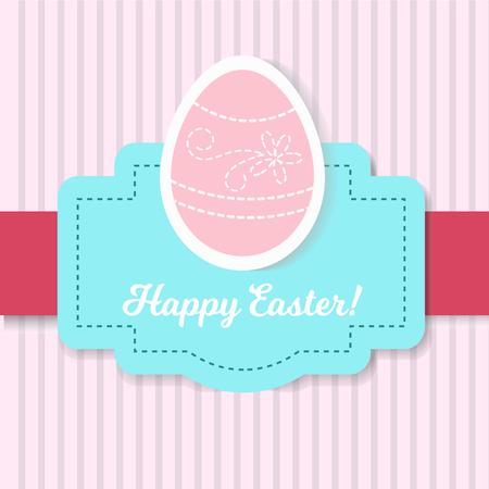 Easter Party Flyer Illustration