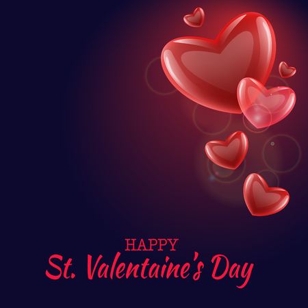 Valentine s Day Love and Feelings Background Design.