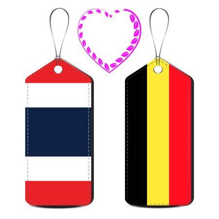 Thailand and Belgium love relationship
