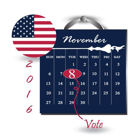 United State of America President election day 2016